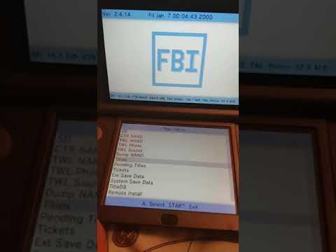 3DS Homebrew: FBI | Ein super CIA Installer [Deutsch ...