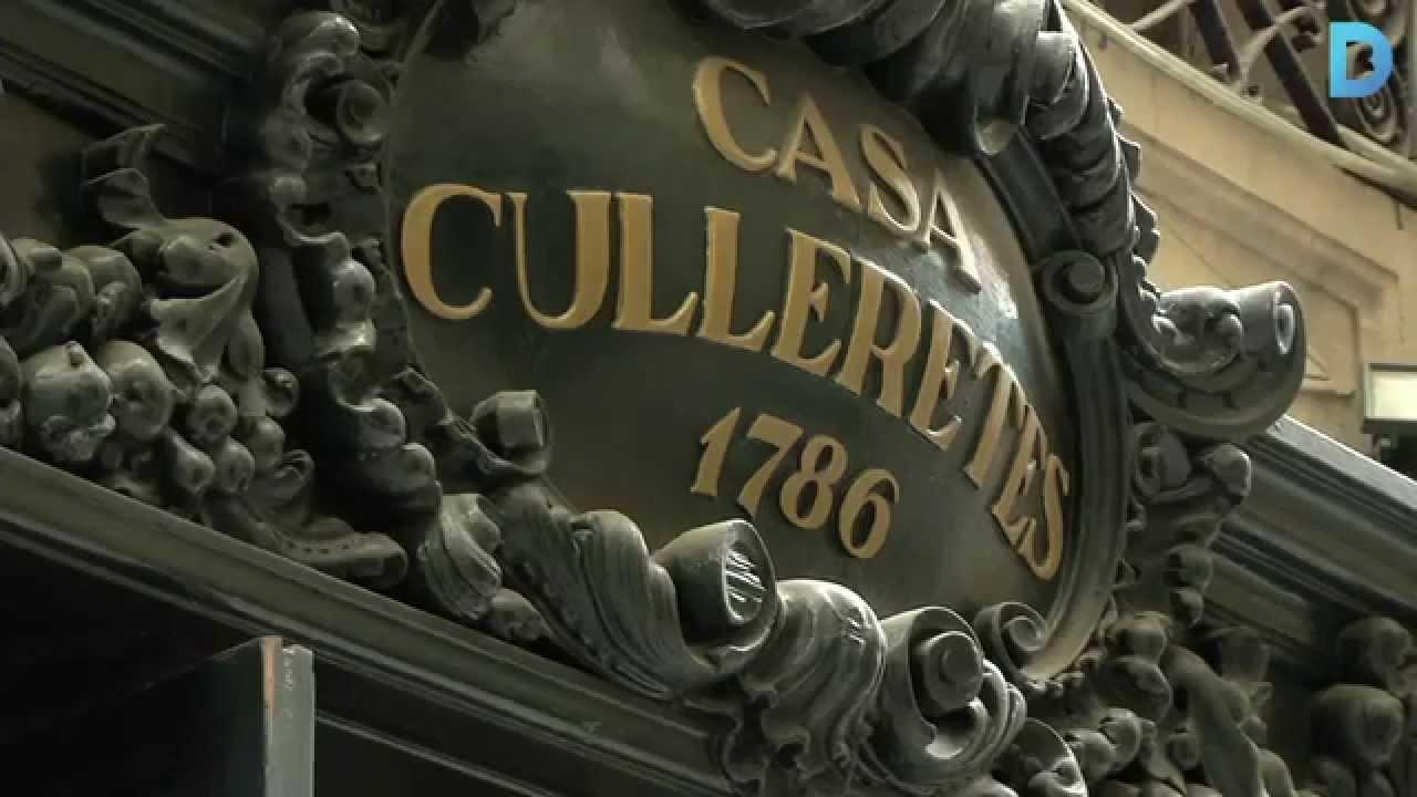 Casa Culleretes - старейший ресторан в Барселоне, рестораны в Барселоне