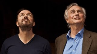the meaning of life   richard dawkins and ricky gervais