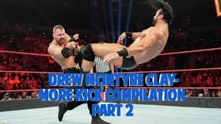 Drew McIntyre Claymore Kick Compilation Part 2