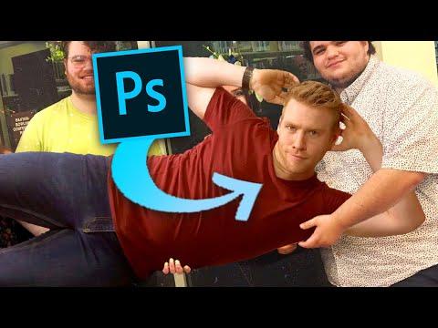 I Photoshop Myself Into YOUR Photos...