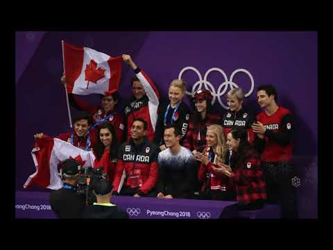 Canada Own the Oval after Figure Skating Gold | Pyeongchang 2018