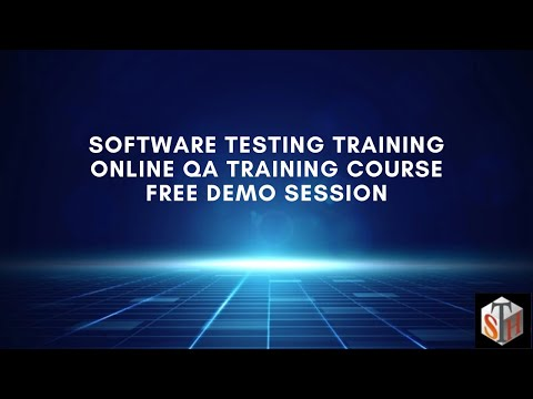 Software Testing Training: Online QA Training Course Free Demo Session