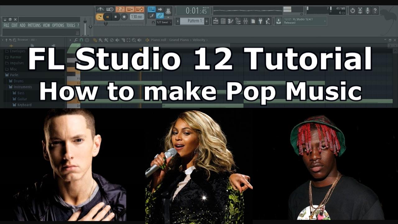 how to make music on fl studio 12