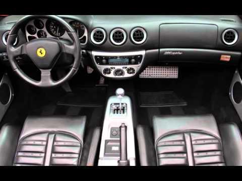 2004 ferrari 360 spider 6 speed manual transmission for sale in rh youtube com ferrari 458 italia manual transmission 458 Italia Interior