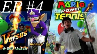 "Mario Power Tennis (Episode 4) Mushroom Tournament ""Yoshi vs Waluigi"" Let"