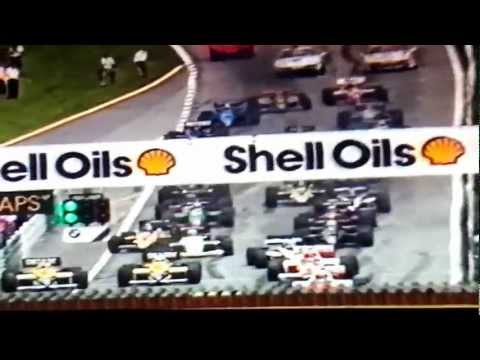 Ayrton Senna narrating the Austrian GP of 1985
