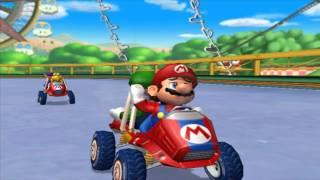 Mario Kart Double Dash Mushroom Cup Mario & Luigi