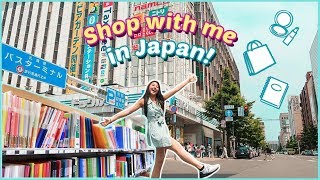 🛍JAPAN SHOPPING vlog! (back to school supplies, food) SHOP WITH ME 2019 ✏️