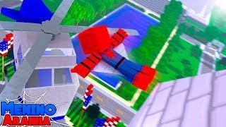 Minecraft: MENINO ARANHA - SALVEI MEUS AMIGOS!!! #89
