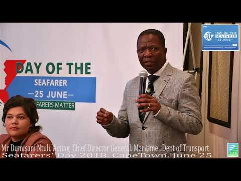 Day of the Seafarers 2018: South Africa