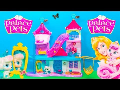 PRINCESS Palace Pets Magical Lights Castle Video Toy Review