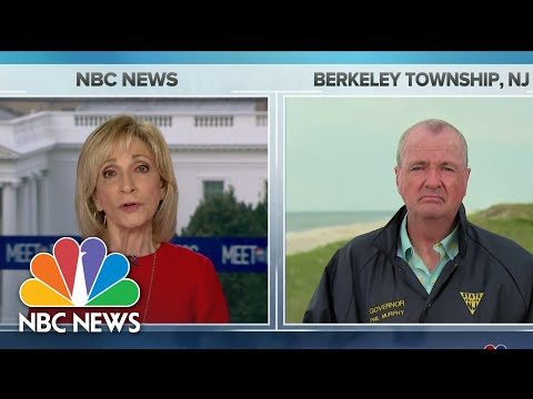 Full Murphy: National Mask Requirement 'Not Debatable' | Meet The Press | NBC News