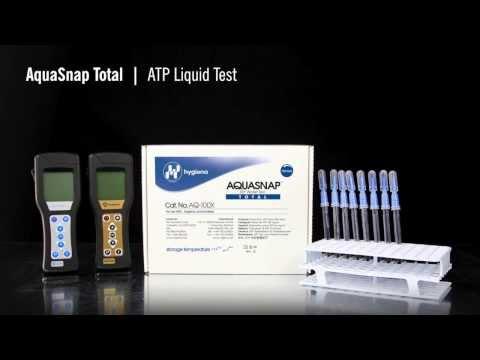 AquaSnap Total - Rapid ATP Test For Liquid Samples