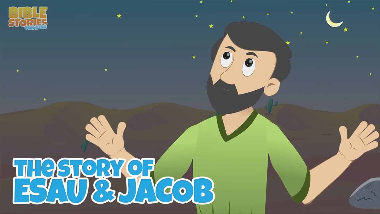 Jacob's Dream at Bethel! -Bible Stories For Kids!