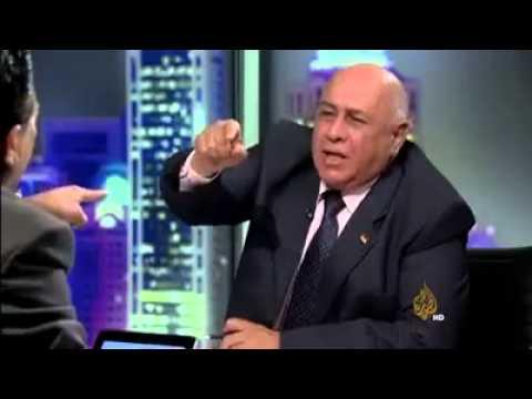 Fighting during live debate on Aljazeera