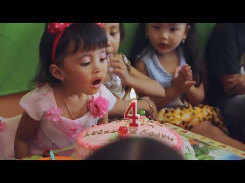 Perayakan Ulang Tahun Shinta Yang Ke 4