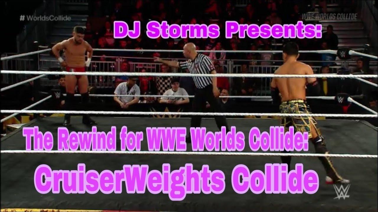 The Rewind for WWE Worlds Collide: CruiserWeights Collide