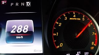 Höchstgeschwindigkeit im Video: 288 km/h Top speed reached in clip:...