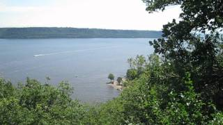 A view of Lake Pepin at Frontenac State Park, Minnesota