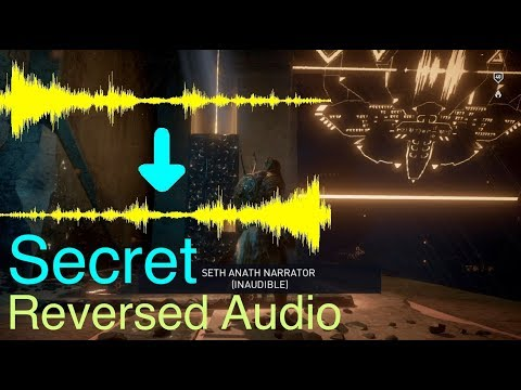 Assassin's Creed Origins: All Reversed Audio in Ancient Mechanisms (Played Backwards)