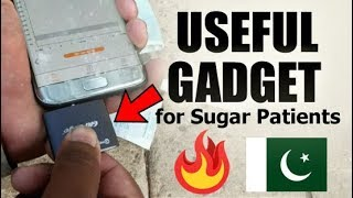 Useful Gadget for Sugar Patients - A SMARTPHONE-BASED GLUCOSE METER