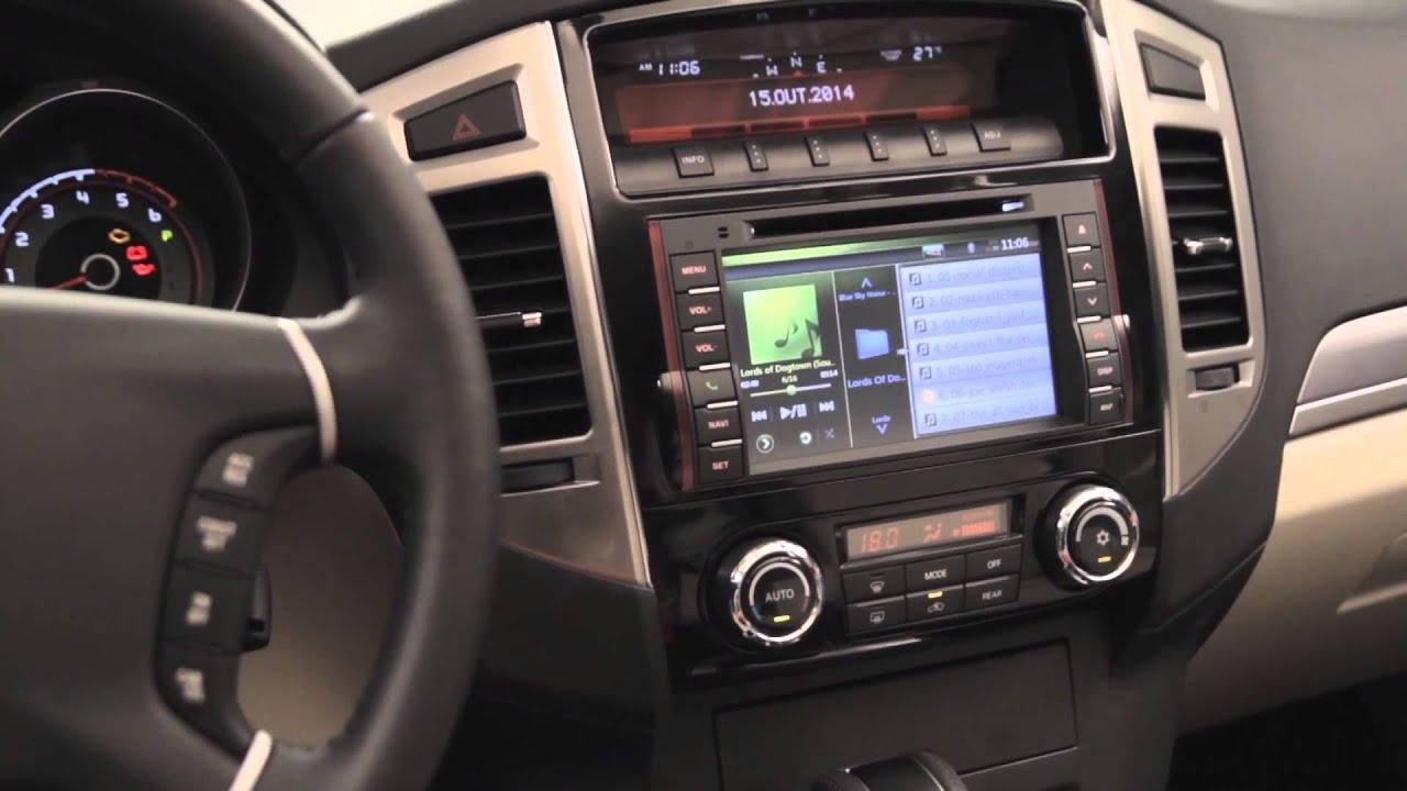 mitsubishi pajero full 2015 youtube - Mitsubishi Montero 2015 Interior