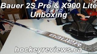 Bauer 2S Pro Stick & X900 Lite Shoulder Pads Unboxing