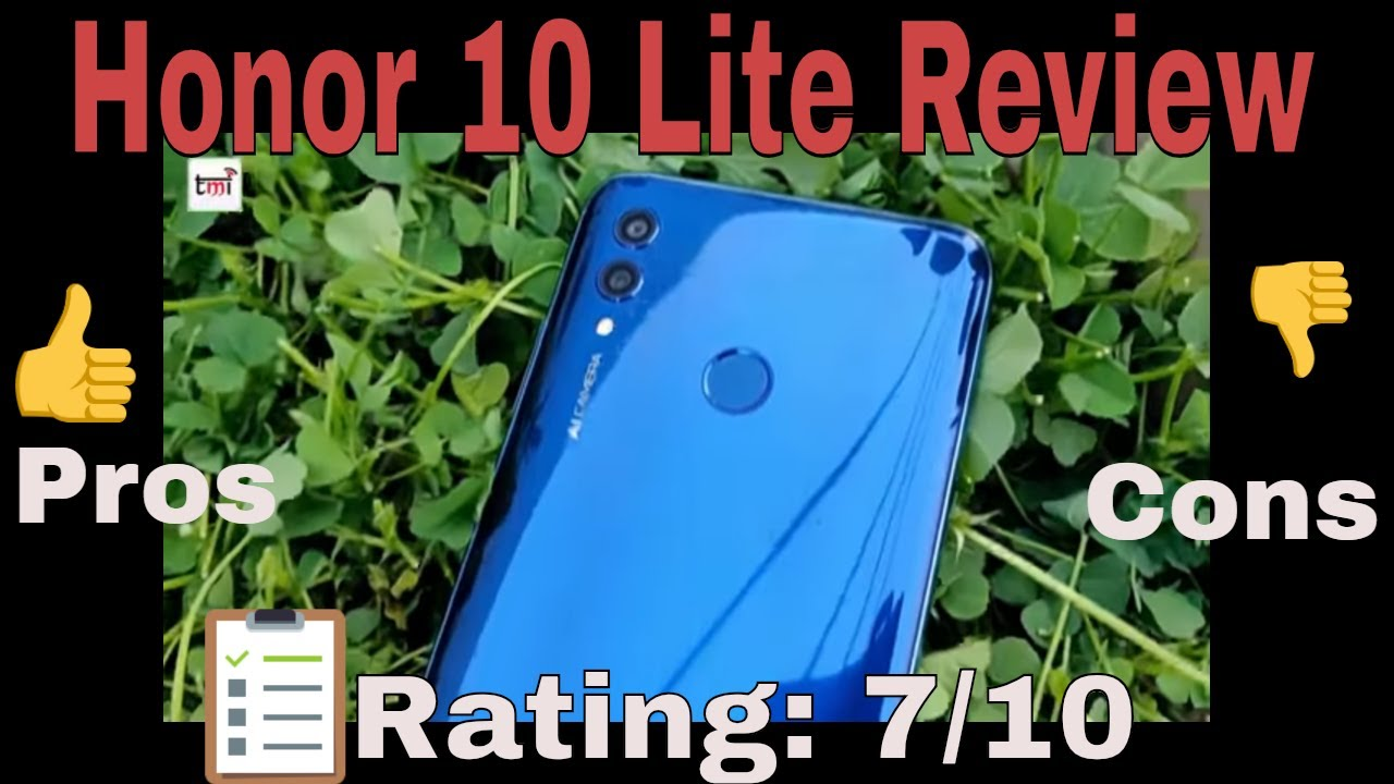 Honor 10 Lite Review: Camera needs a software update