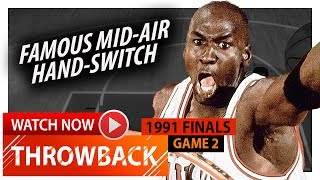 Throwback: Michael Jordan Full Game 2 Highlights vs Lakers 1991 Finals - 33 Pts, 13 Ast, LEGENDARY!