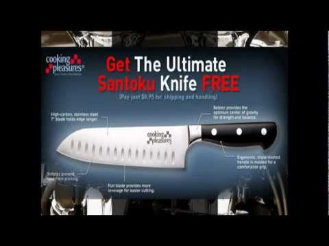 santoku knife vs chef knife youtube. Black Bedroom Furniture Sets. Home Design Ideas