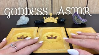 ASMR GODDESS ORACLE CARD READING