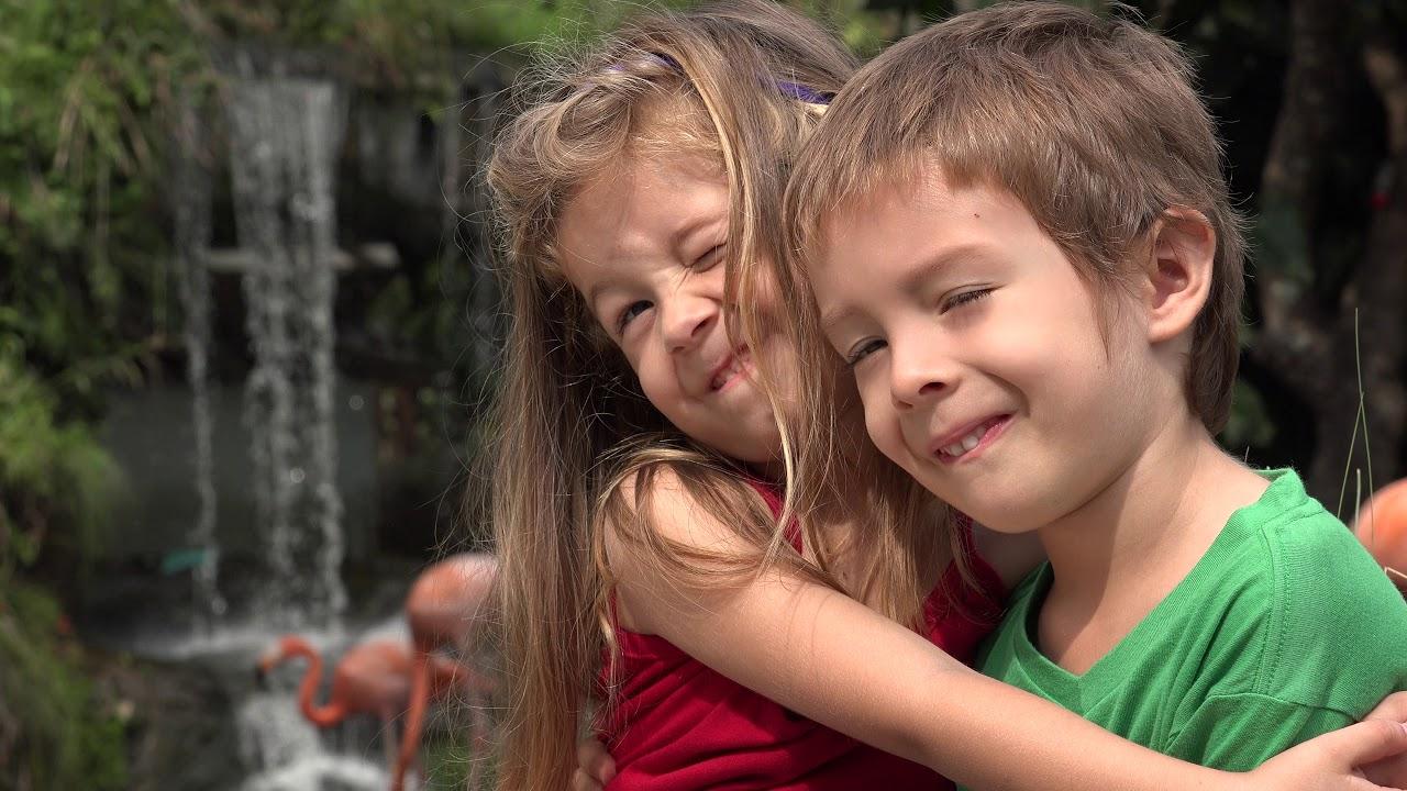 adorable toddler siblings hugging youtube