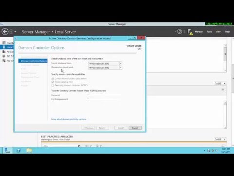 Installing Domain Controlle Part2
