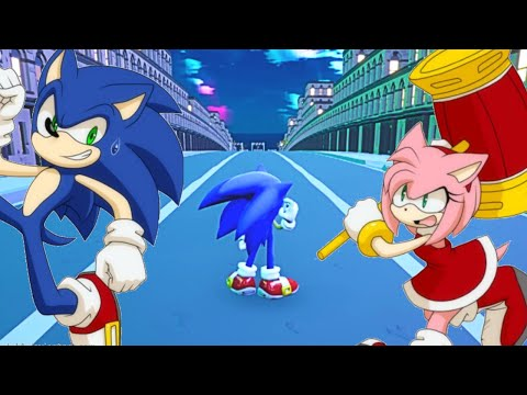Sonic Running From Love (Endless Runner - Fangame) |