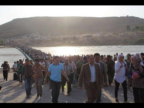 Iraq: Thousands of Syrians Cross the Tigris