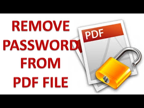 how to put password on a pdf file