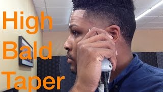 How to- Self Bald Taper Fade Tutorial- Step by step