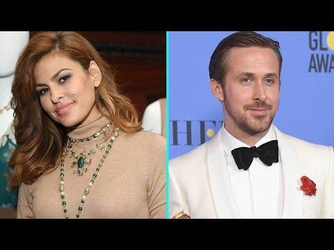 Eva Mendes Coyly Responds to Ryan Gosling's Sweet Golden Globe Award Dedication
