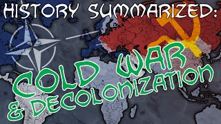 The Cold War & Decolonization - History Summarized