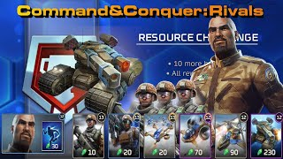 C&C Rivals Resource Challenge. 10 Games of Brutal MAMMOTH Action