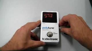 tc electronic polytune service mode