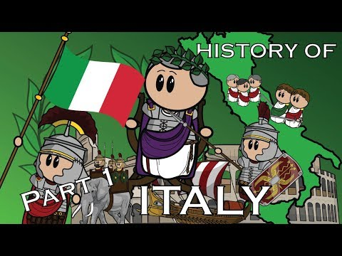 The Animated History of Italy | Part 1