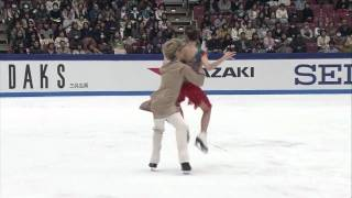 Davis & White Indian Folk Dance 09 Grand Prix NHK Trophy OD