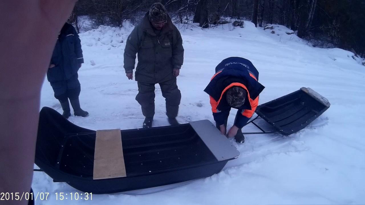 разборный снегоход для рыбалки и охоты купить