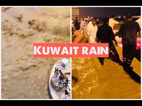 Kuwait Heavy Rains flood|| Kuwait News|| Waterlogged in Kuwait/ Kuwait city /LIVING IN KUWAIT/9 Nov