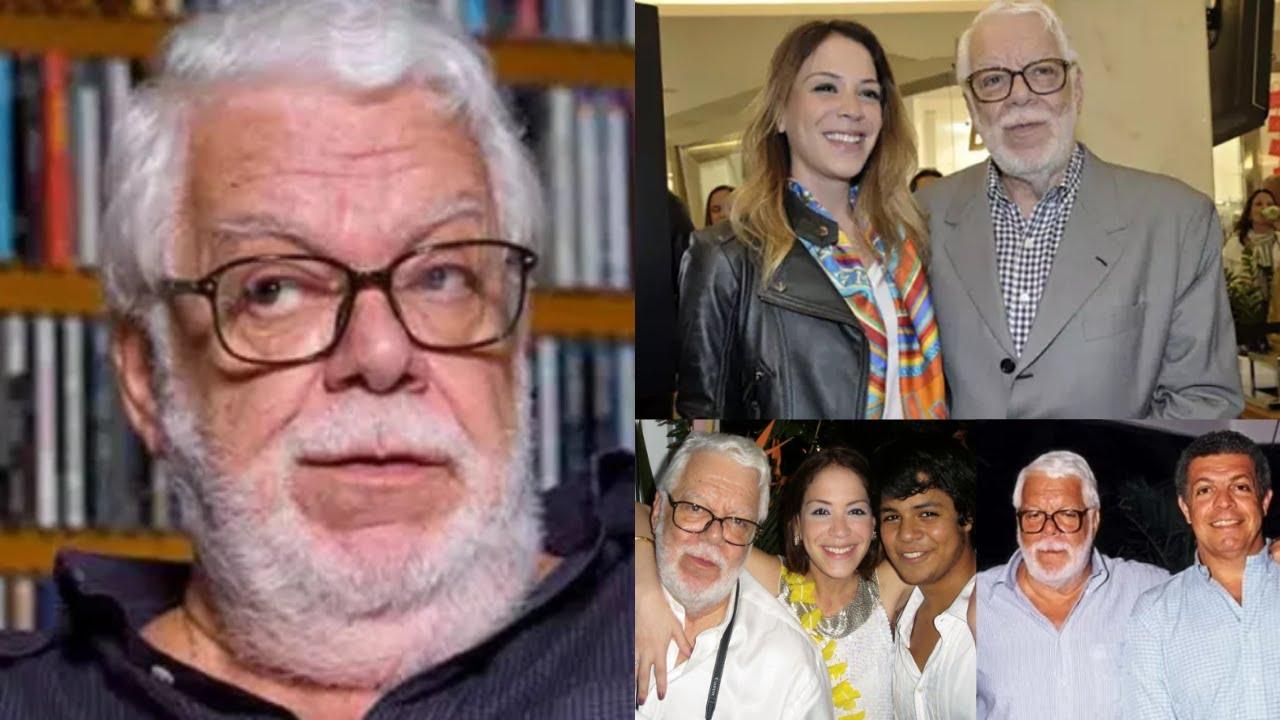 Conheça a filha de Manoel Carlos que tem cicatriz no pescoço e saiba quantos filhos o autor perdeu
