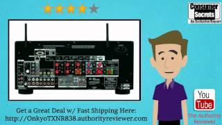 review sale onkyo tx nr838 7 2 ch dolby atmos ready network a v receiver