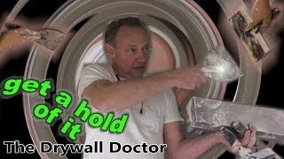 How to Hold a Drywall Knife - Viewer Request