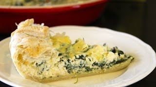 How To Make A Spinach, Ricotta, And Feta Pie